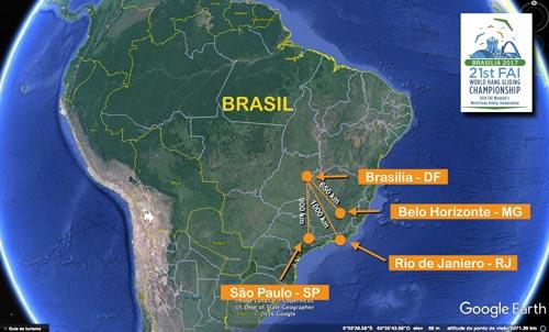 Brasilia in Brazil