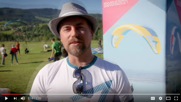 Triple Seven at the Kossen Super Paragliding Testival 2017