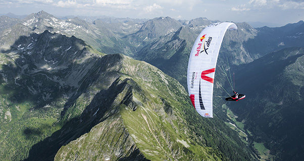 Red Bull X-Alps 2017: Nick Neynens full stalls his Z-Alps