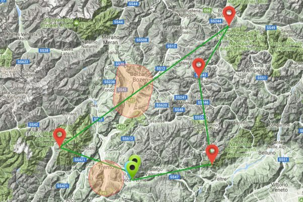 Dolomiti Superfly route 2017