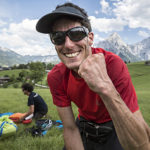 Red Bull X-Alps 2017: Pal Takats by Lake Como