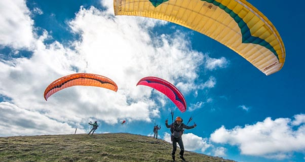 Gin Bolero 6: entry-level paraglider