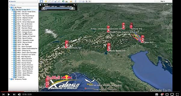 Red Bull X-Alps 2017: 3D Live Tracking is here!