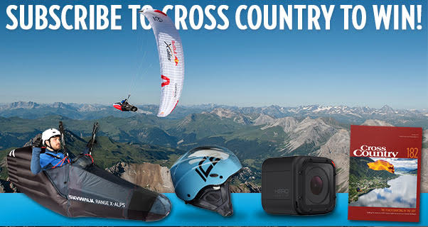 Win a Skywalk paragliding harness