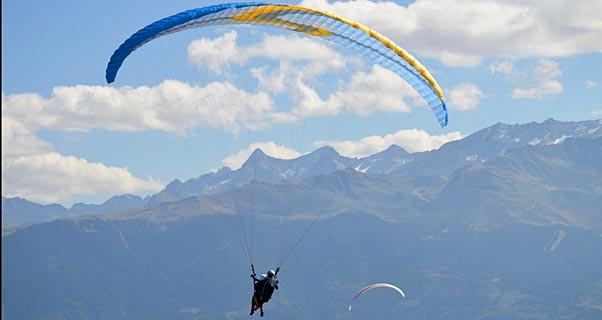 Sky Apollo Bi tandem cross-country paraglider