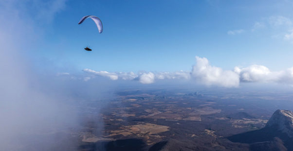 Paragliding in Quixada with Kiwi Johnston