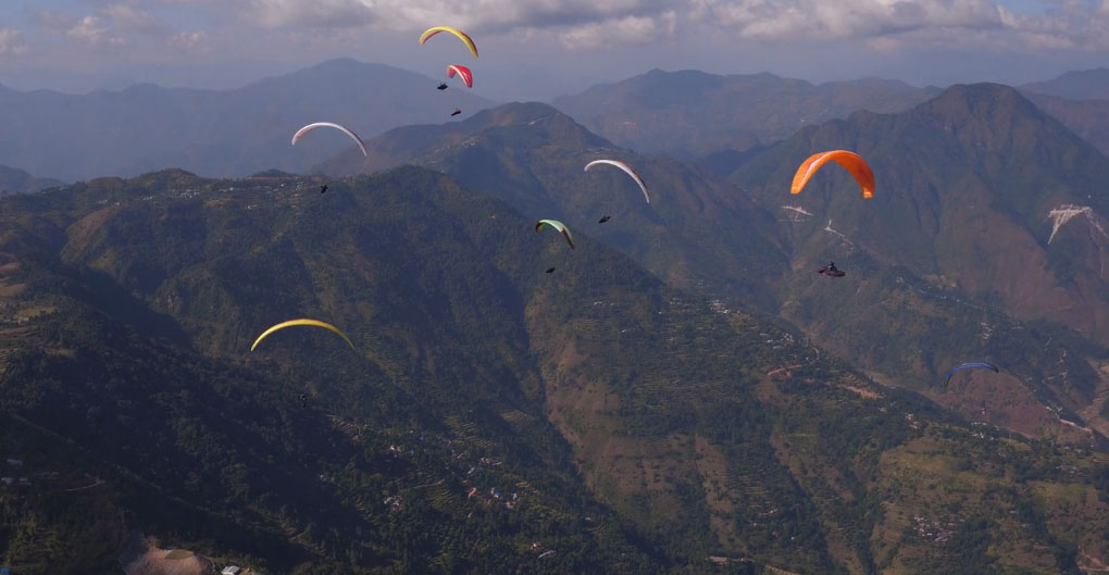 Video report: Nepal Paragliding Open 2017