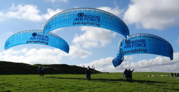 RAF-Paragliding-Westbury
