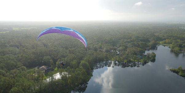 Paramotoring with Jeff Goin